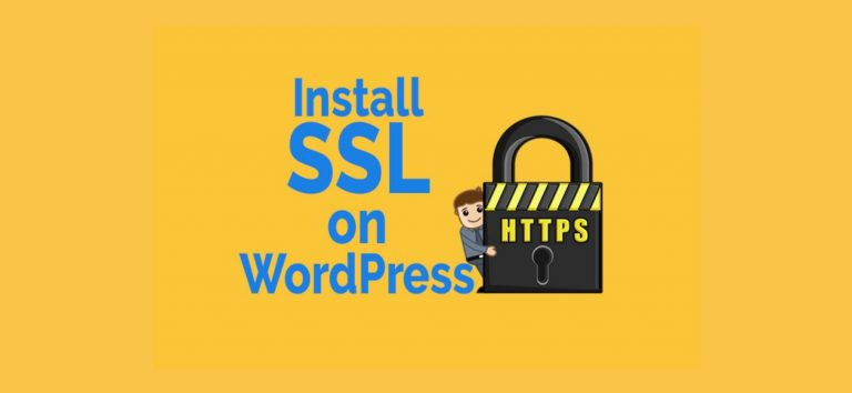 install ssl on wordpress https