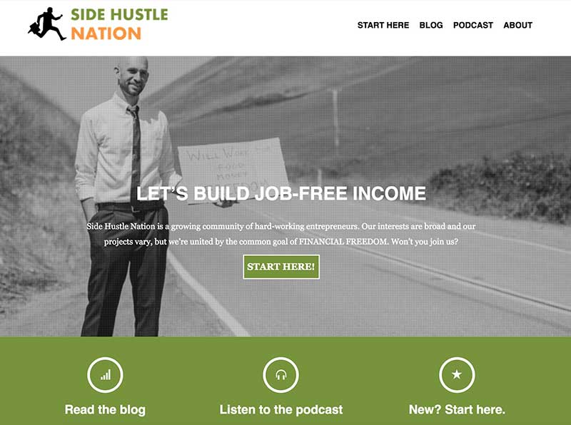 Side Hustle Show on Side Hustle Nation