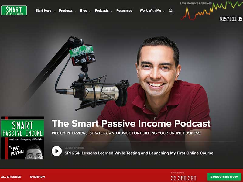 Smart passive income podcast with Pat Flynn