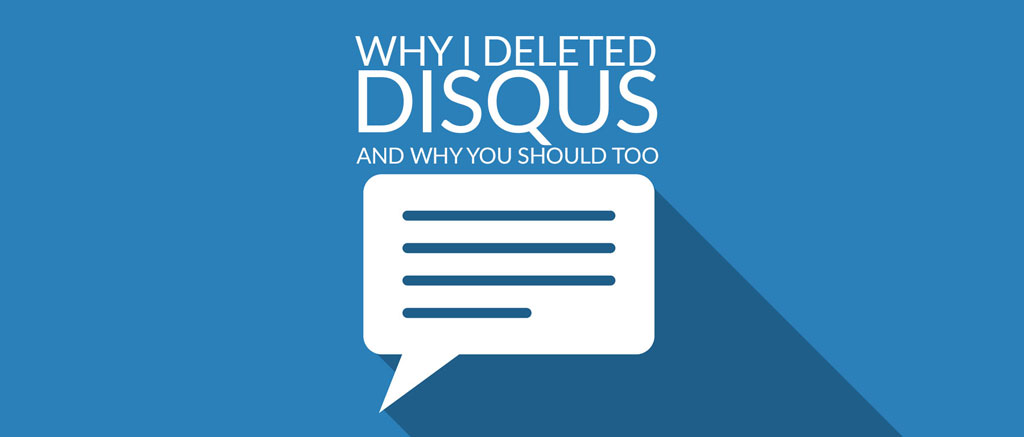 remove disqus from WordPress