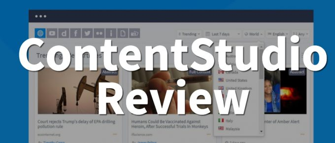 contentstudio review social media and marketing automation software