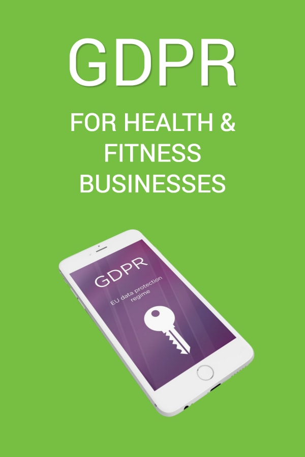 GDPR for health and fitness businesses