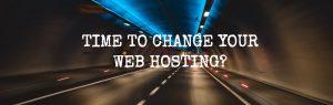 change web hosting provider