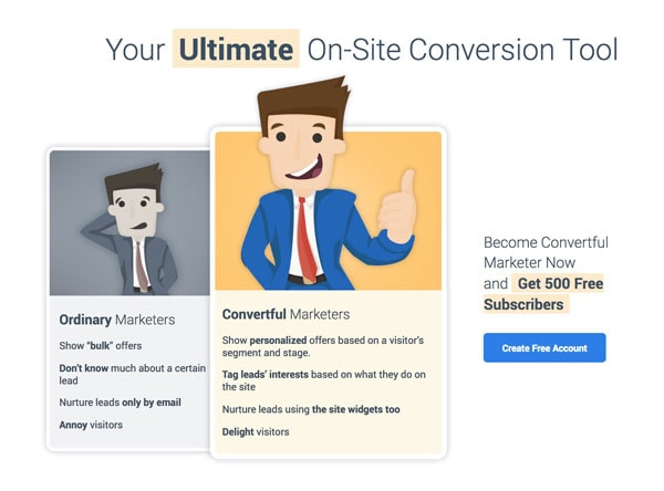 convertful email generation tool