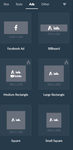 Ads image creation