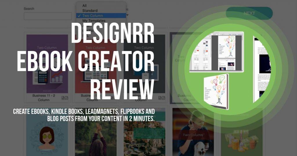 Designrr review - Ebook Creator