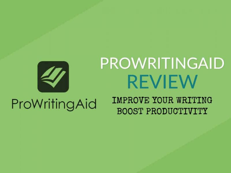ProWritingAid review - best online writing editor
