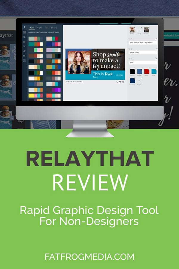 RelayThat graphic design software review
