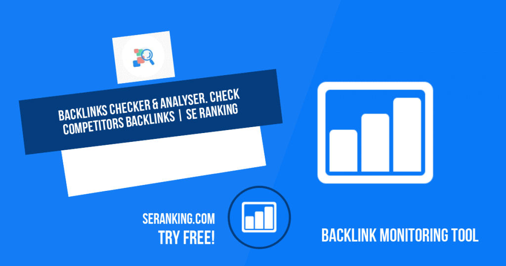 best backlink checker software - SEranking