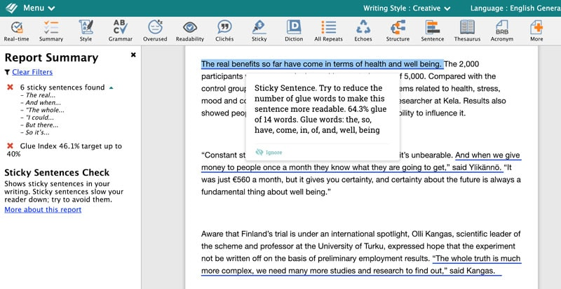 ProWritingAid Review - Improve Your Writing With This Editing Tool