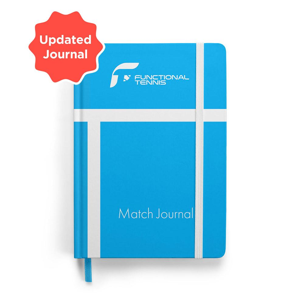 Ecommerce product functional tennis match journal