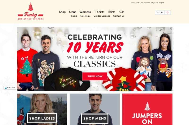 funky christmas jumpers on magento