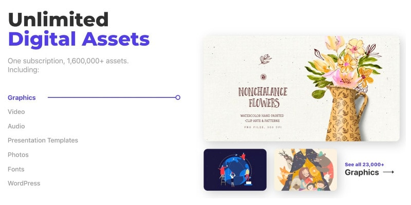 Envato Elements - Unlimited Digital Assets