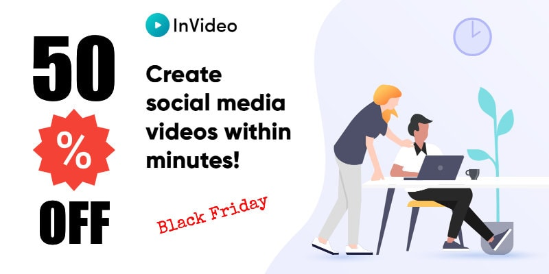 Invideo Black Friday 50% Off