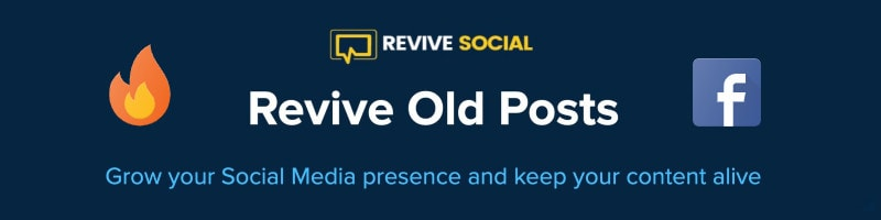 Revive.Social revive old post on Facebook