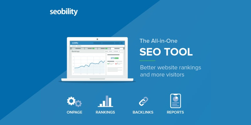 Seobility SEO software for marketers