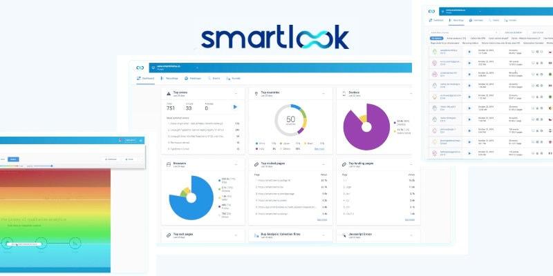 Smartlook heat maps and analytics