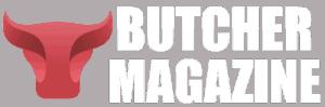 Online Food Magazine Client Logo: Butcher Magazine