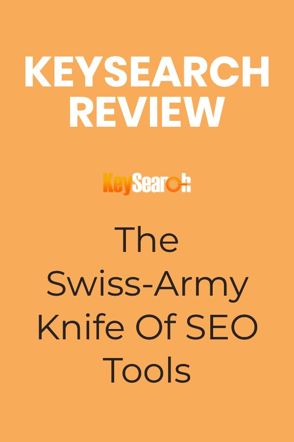 Keysearch Review Pinterest