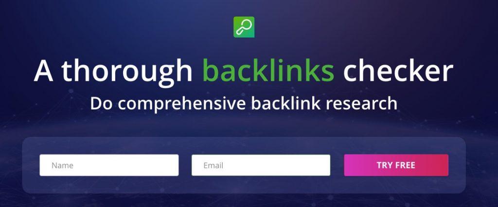 Seospyglass Backlinks Checker Linkody Alternative 1