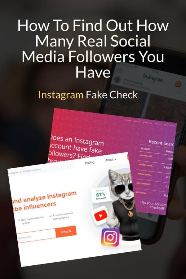 Instagram Fake Check