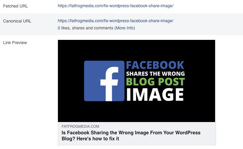 Facebook Share Image
