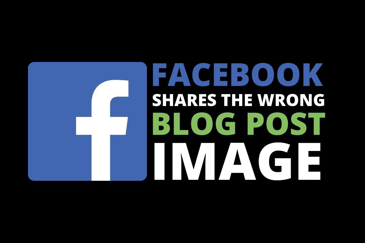 Facebook Shares Wrong Image