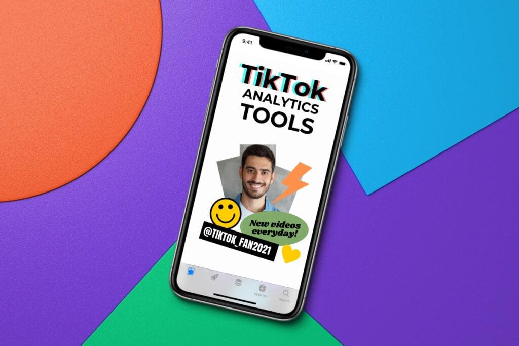 Tiktok Analytics Tools Mobile Phone App Featured