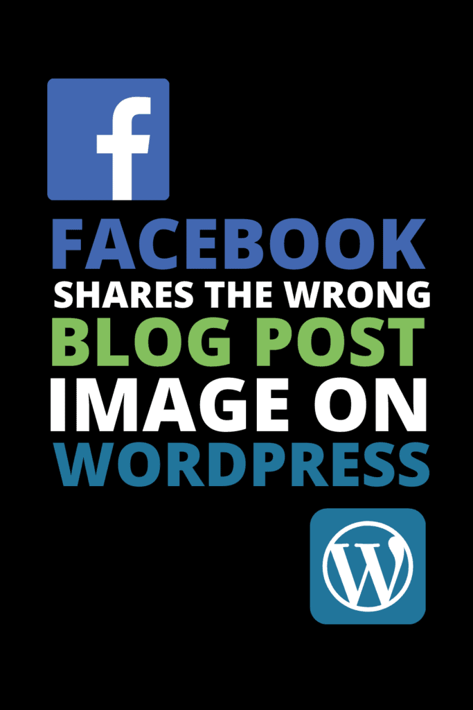 Wordpress Facebook Share Image Not Showing