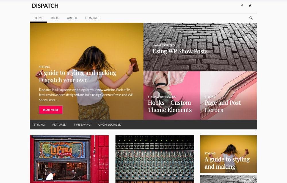 Generatepress WordPress Themes