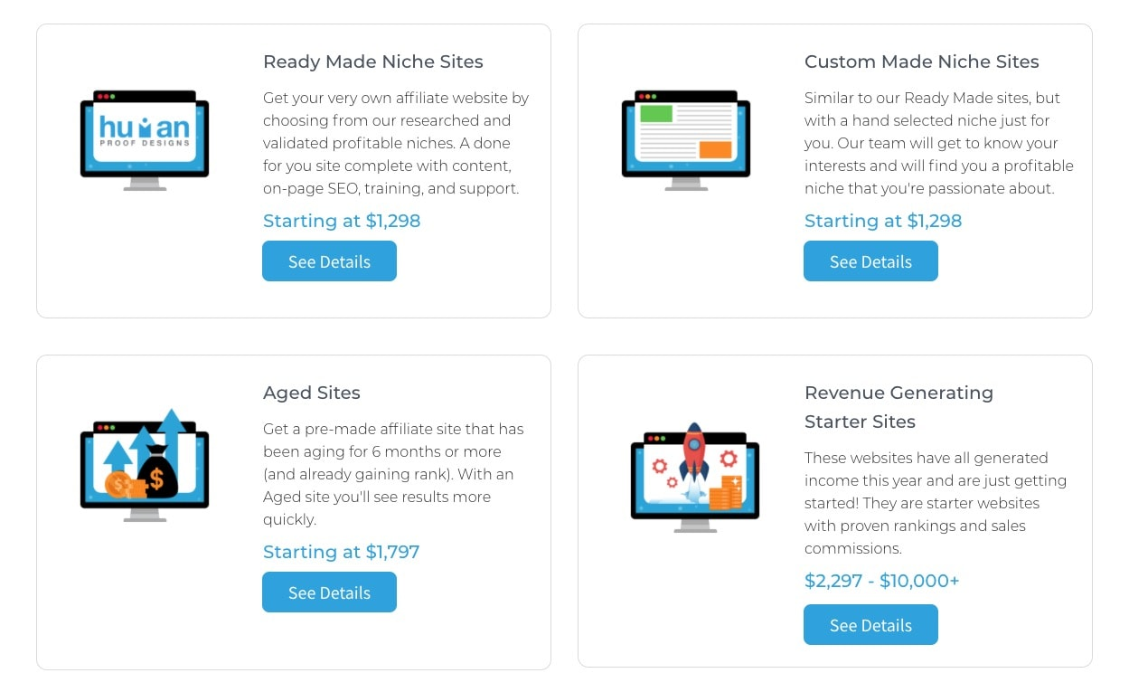 Human Proof Designs Websites For Sale