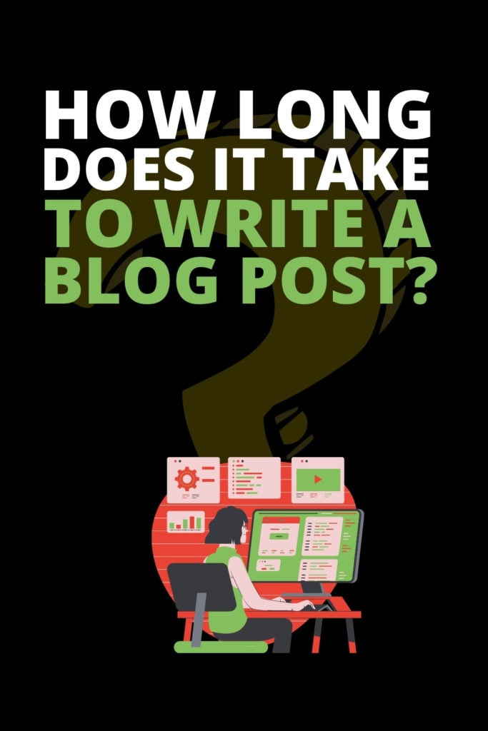 how long to write a blog post pinterest