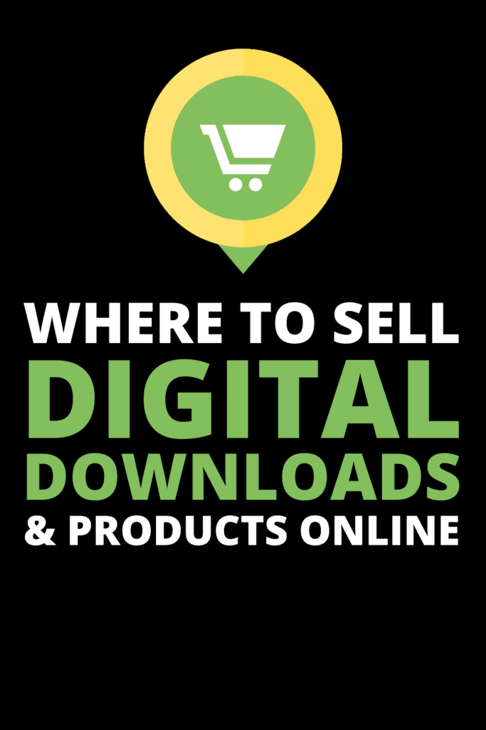 where to sell digital products online