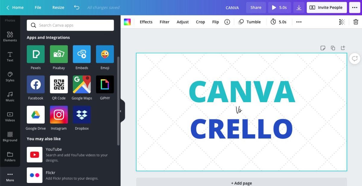 canva integrations