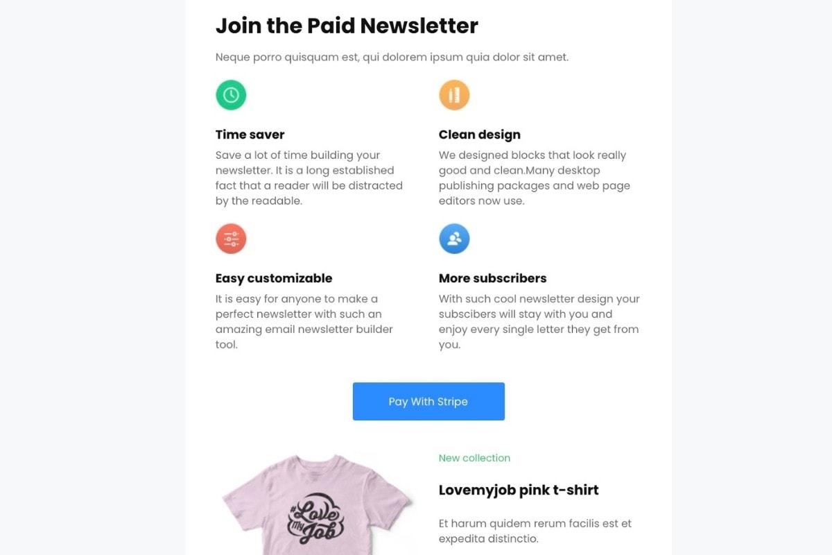 mailerlite newsletter example