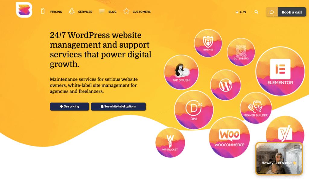 wp buffs wordpress website management