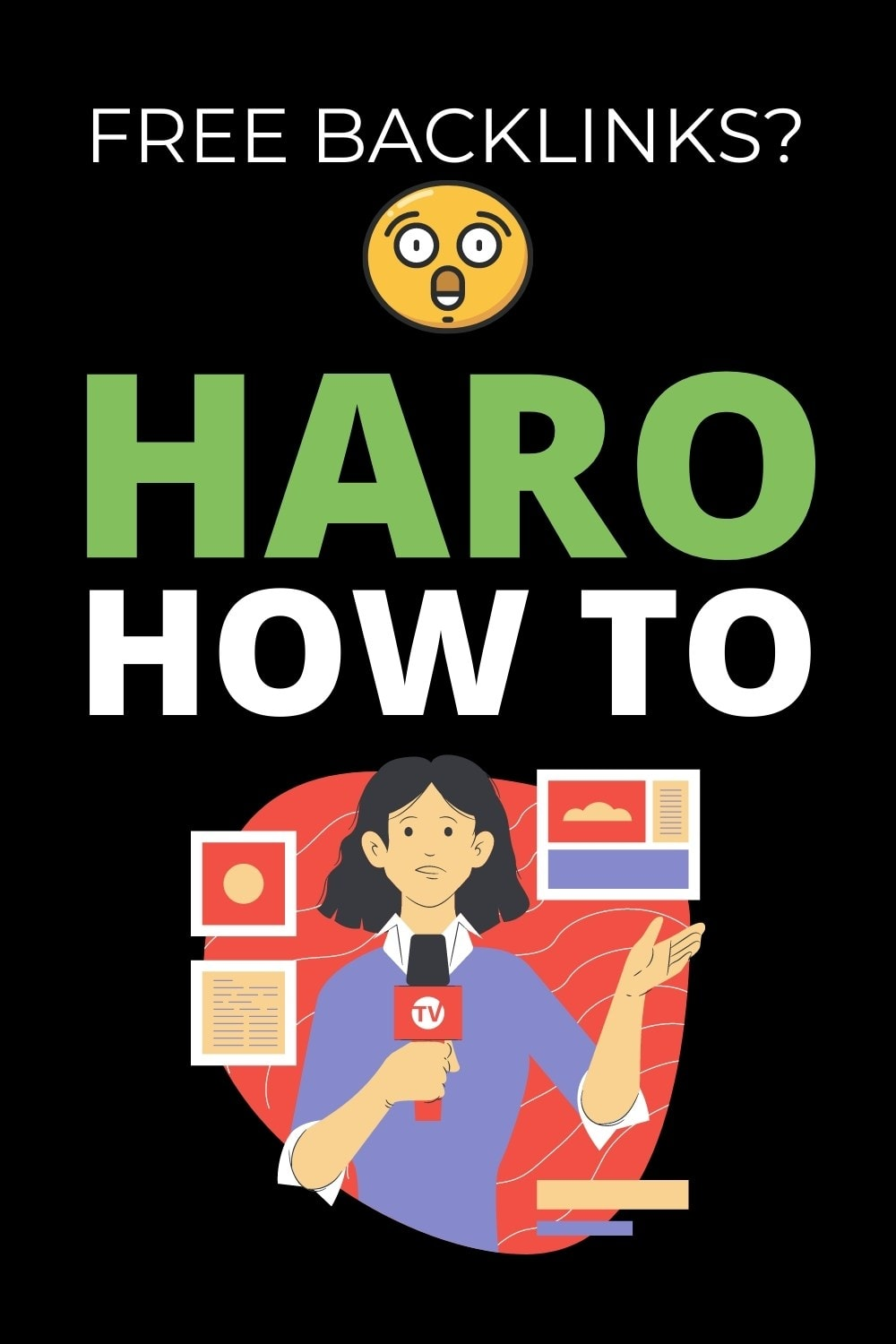 how to do haro help a reporter out pinterest